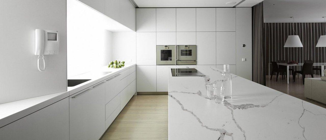 Cozinha em branco