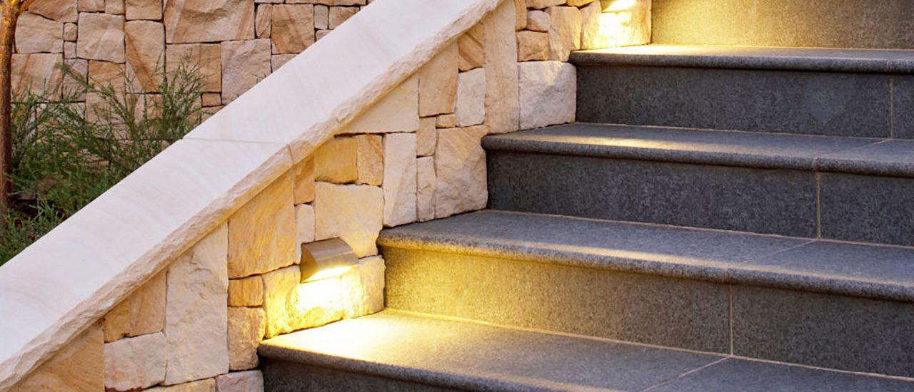 Escadaria em granito